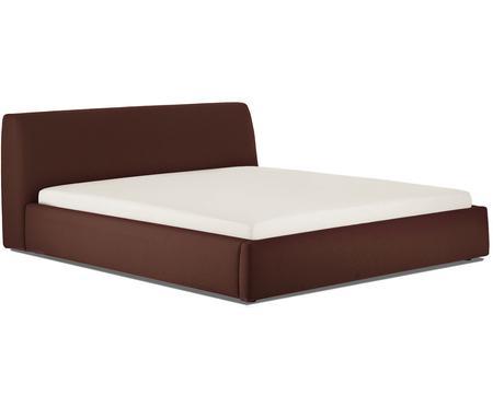 Čalouněná postel s čelem Cloud