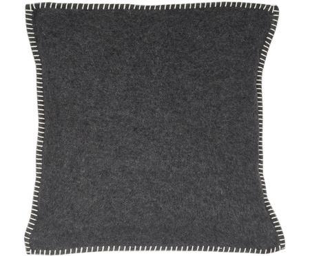 Měkký flísový povlak na polštář sprošíváním Sylt
