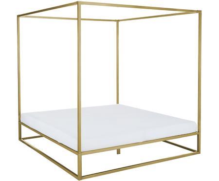 Kovová postel snebesy Belle