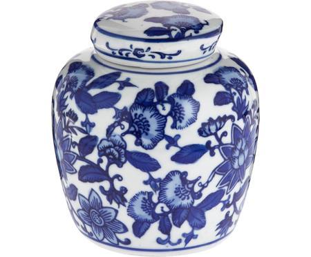 Malá porcelánová váza svíčkem Annabelle
