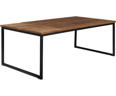Konferenční stolek z masivu vindustriálním stylu Randi