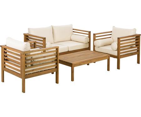 Sada zahradního nábytku Bo, 4 díly