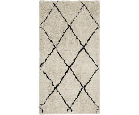Načechraný koberec s vysokým vlasem Naima, ručně všívaný