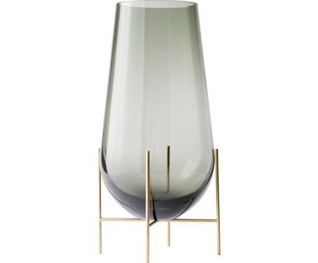 Ručně foukaná designová váza Échasse