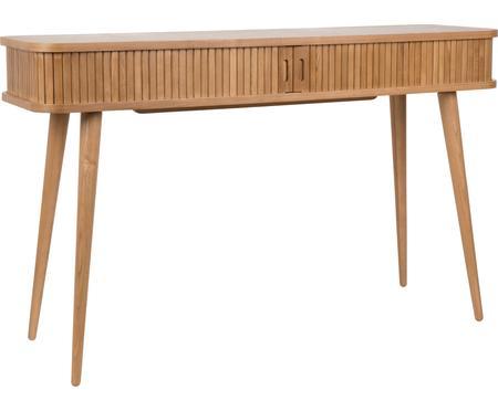 Dřevěný konzolový stolek s úložným prostorem Barbier