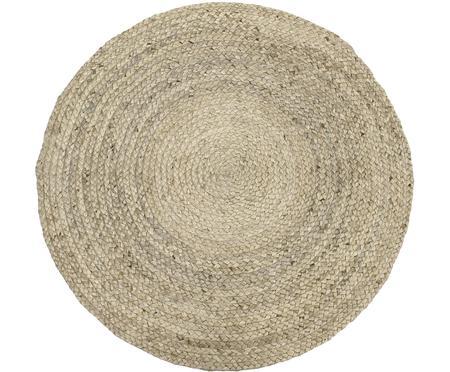 Ručně vyrobený kulatý koberec zjuty Sharmila