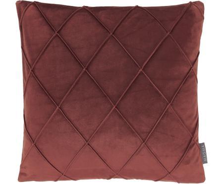 Sametový povlak na polštář s plastickým vzorem Nobless