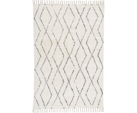 Ručně tkaný omyvatelný koberec střásněmi Berber