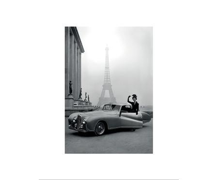 Zarámovaný digitální tisk France 1947