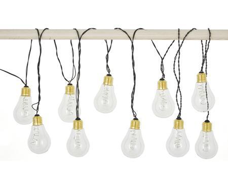 Světelný LED řetěz Bulb, 360cm, 10 lampionů
