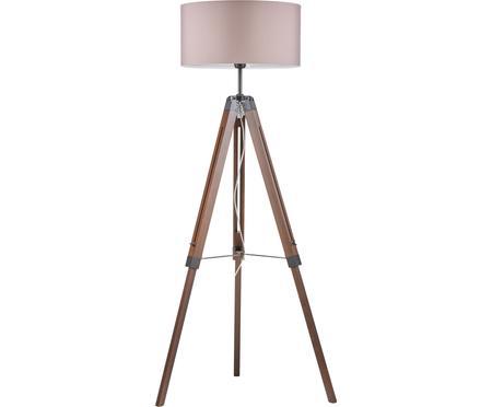 Stojací lampa z ořechového dřeva Matilda