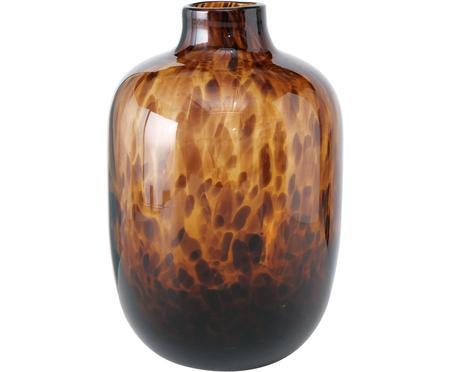 Skleněná váza Leopard