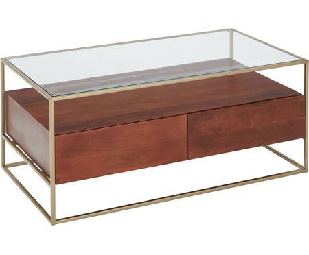 Konferenční stolek se zásuvkami Theodor