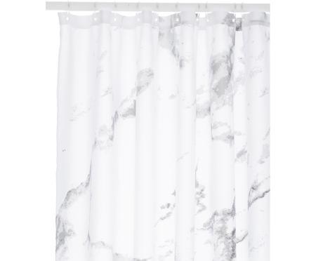Sprchový závěs s mramorovým potiskem Marble