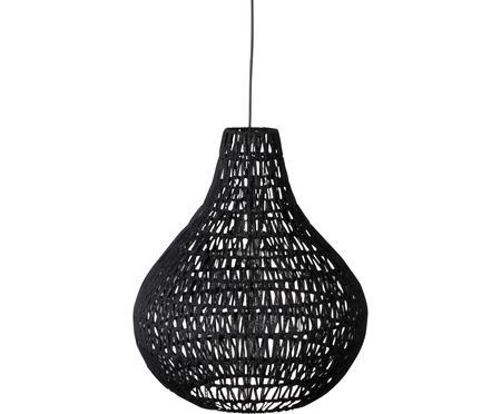 Závěsné svítidlo z textilu Cable Drop