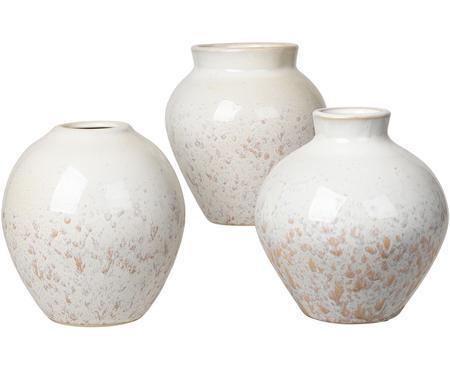 Sada váz z keramiky Ingrid, 3díly