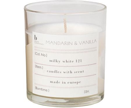 Vonná svíčka Mandarin (mandarinka, vanilka)
