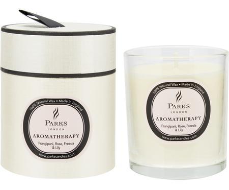 Vonná svíčka Aromatherapy (růžová, frézie alilie)