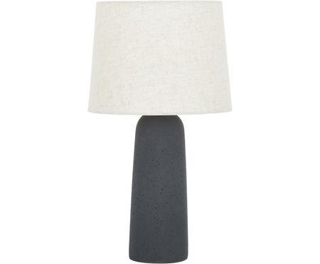 Velká stolní lampa s betonovou podstavou Kaya