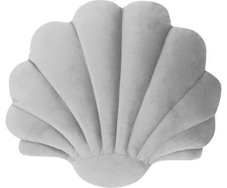 Sametový polštář ve tvaru mušle Shell