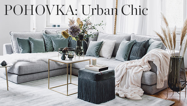 Pohovka: Urban Chic