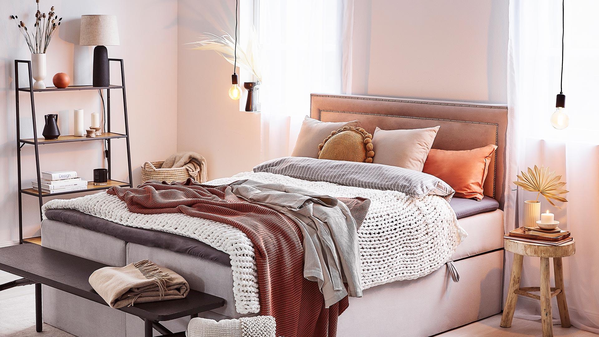 Útulná ložnice