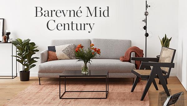 Barevné Mid Century