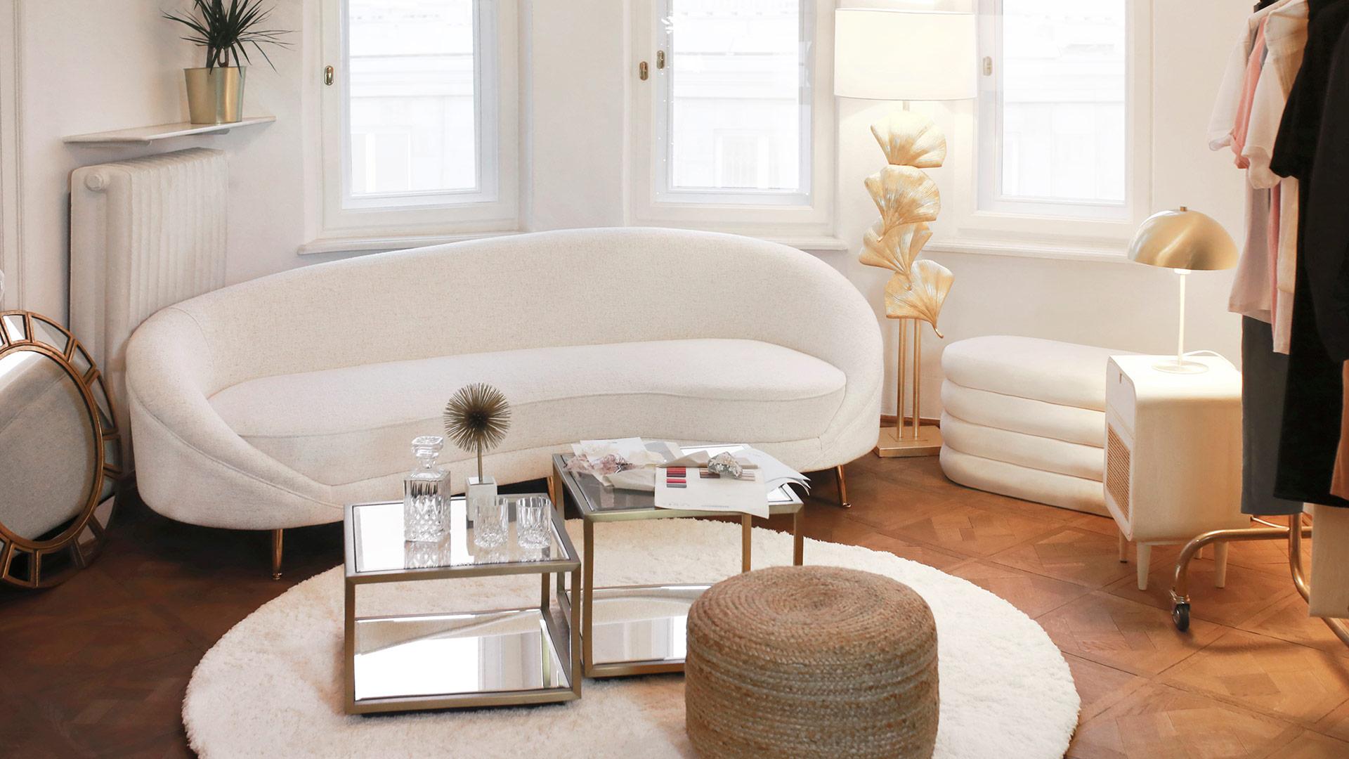 Glamour v bílé